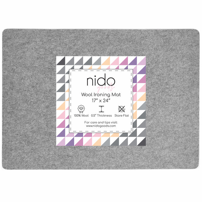 Wool Ironing Mat - 17 x 24 Inches