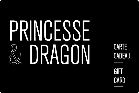CARTE-CADEAU Princesse & Dragon