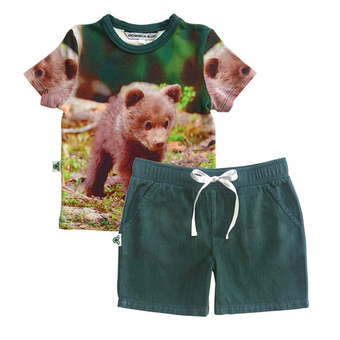 Graphic Tee - Bear Cub