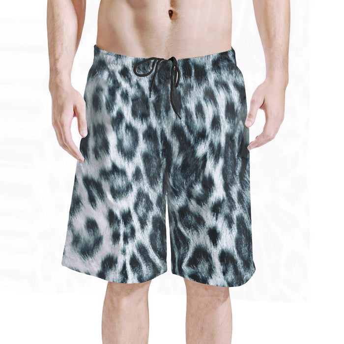 Board Shorts - Men - Snow Leopard