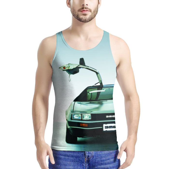 Adult Tank - Men's - Delorean