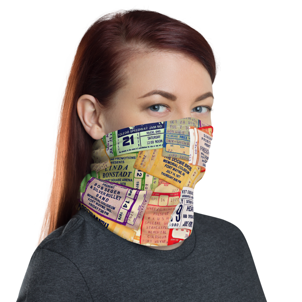 All-In-One Mask - Concert Tickets
