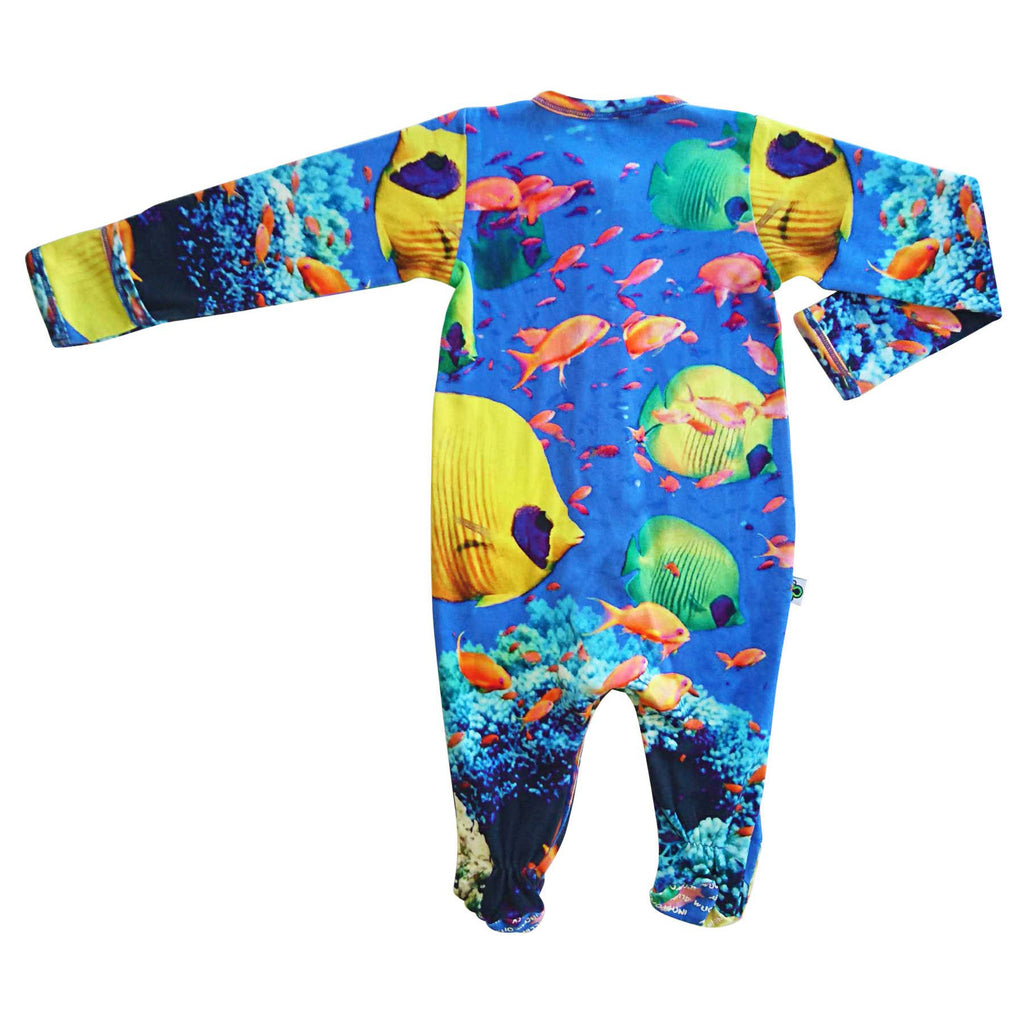 Footie - Full Sleeve - Tropical Fish (PRE-ORDER ONLY)