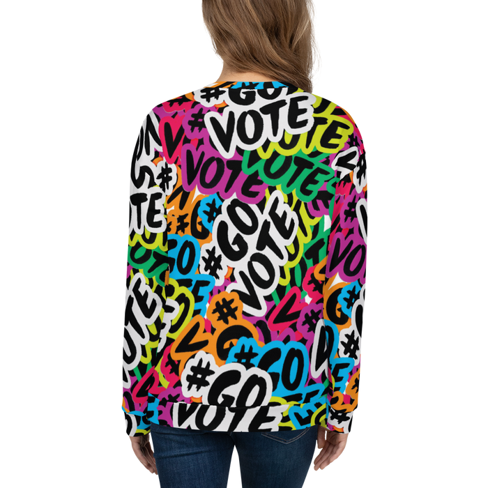 Adult Sweatshirt - #GOVOTE