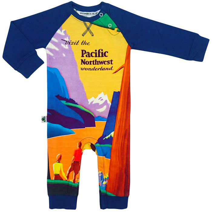 Romper - Raglan - Pacific Northwest (PRE-ORDER ONLY)