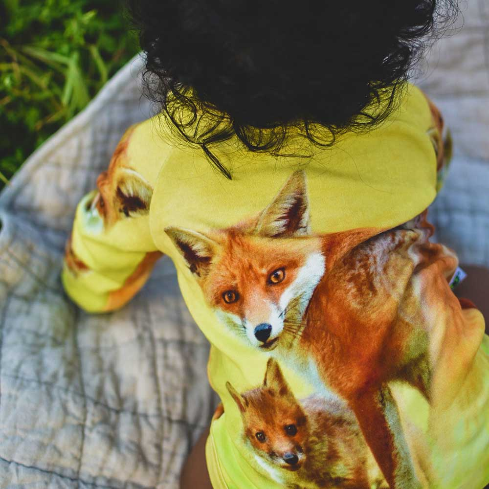 Bodysuit - Raglan - Fox + Kit