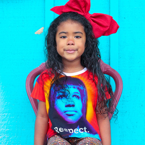Boxy Tee - Aretha Franklin, Respect