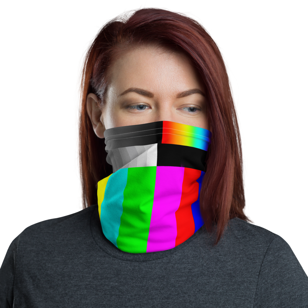 All-In-One Mask - TV Test Pattern
