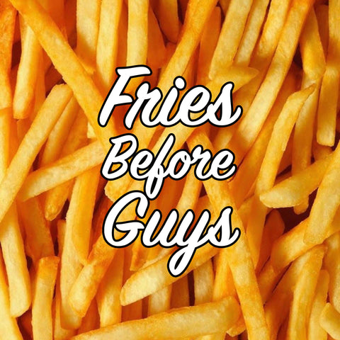 Graphic Tee - Youth/Teen - Fries Before Guys