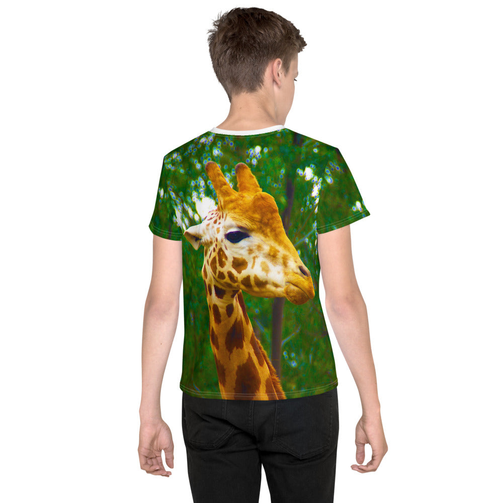 Graphic Tee - Lil Kid - Giraffe