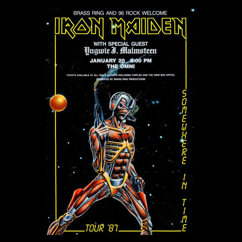 Bodysuit - Short Sleeve - Iron Maiden (6 colour options)