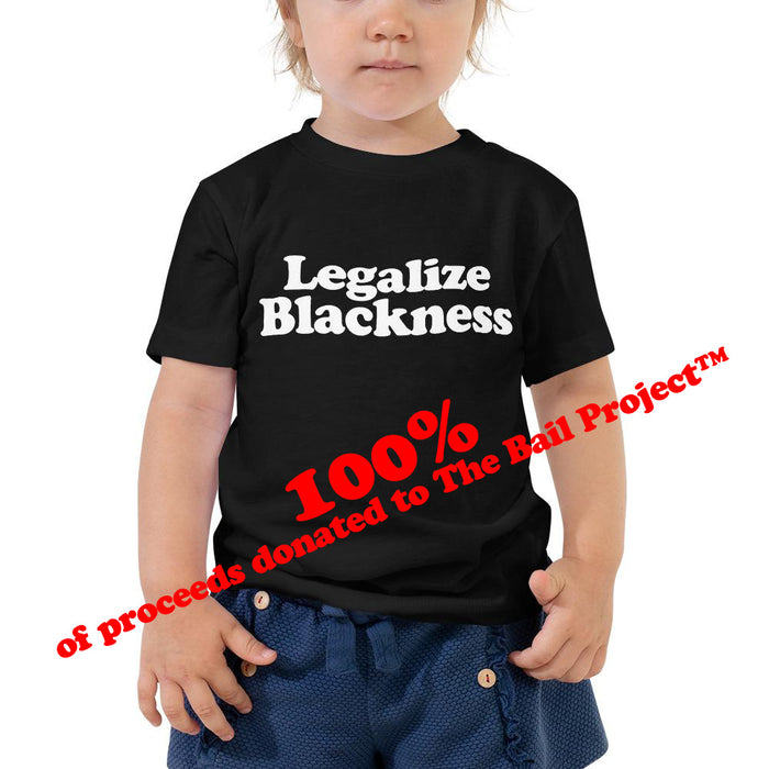 Unisex Kid's Tee - Legalize Blackness (more colours)