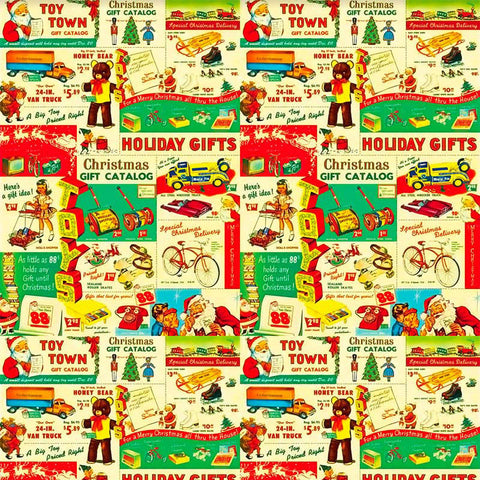 Image of ads from a vintage Christmas catalogue