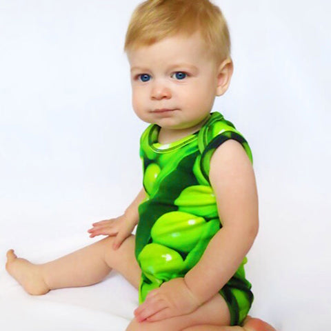Bodysuit - Sleeveless - Peas In A Pod (PRE-ORDER, APR DELIVERY)