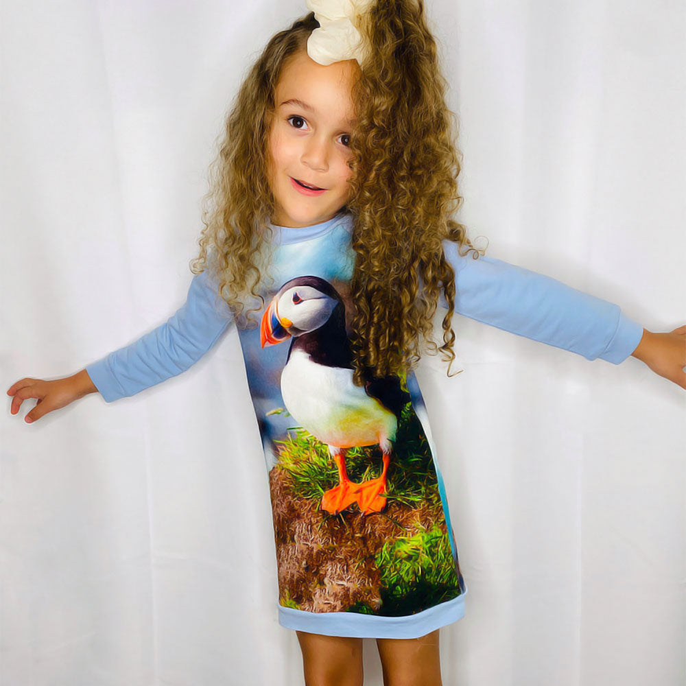 Sweatshirt Dress - Puffin