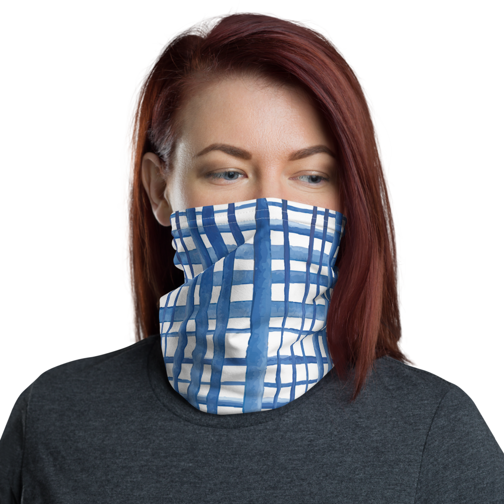 All-In-One Mask - Shibori Crosshatch