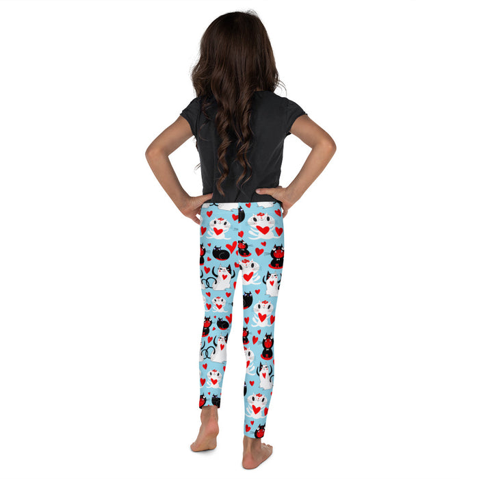Graphic Leggings - Lil Kid - Kitty Love