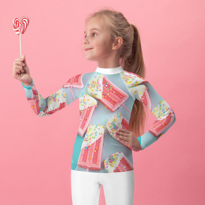 Rash Guard - Lil Kid - Confetti Ice Pops
