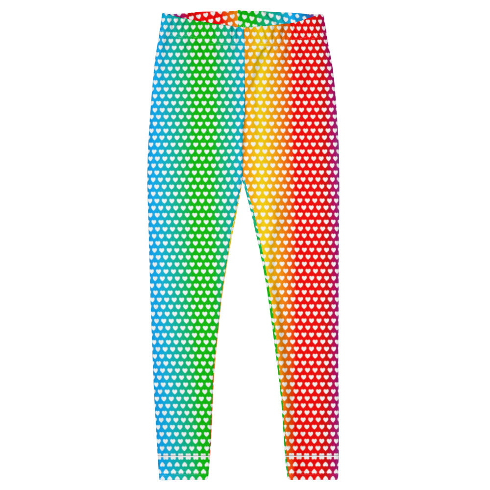 Graphic Leggings - Women's - Cascading Hearts