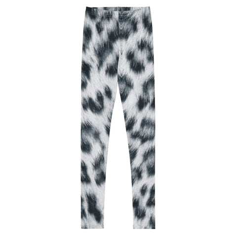 Graphic Leggings - Youth/Teen - Snow Leopard