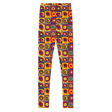 Graphic Leggings - Youth/Teen - Kandinsky