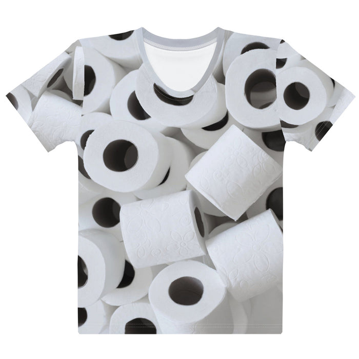 Adult Tee - Women's - Toilet Paper
