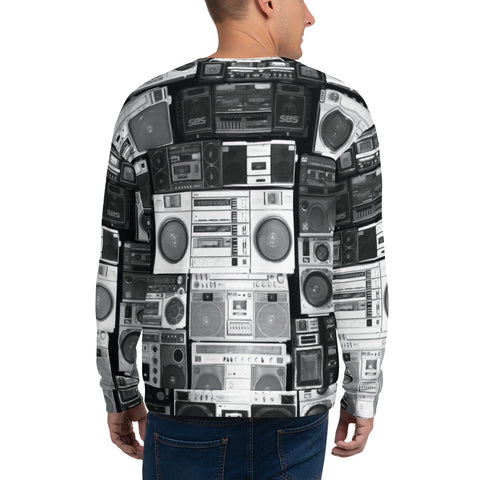 Adult Sweatshirt - Boom Boxes