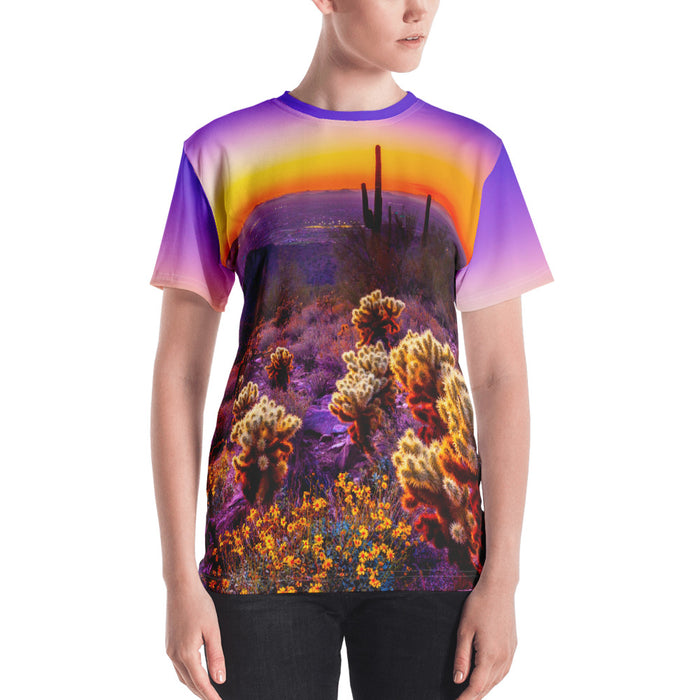 Adult Tee - Women's - Desert Sunset