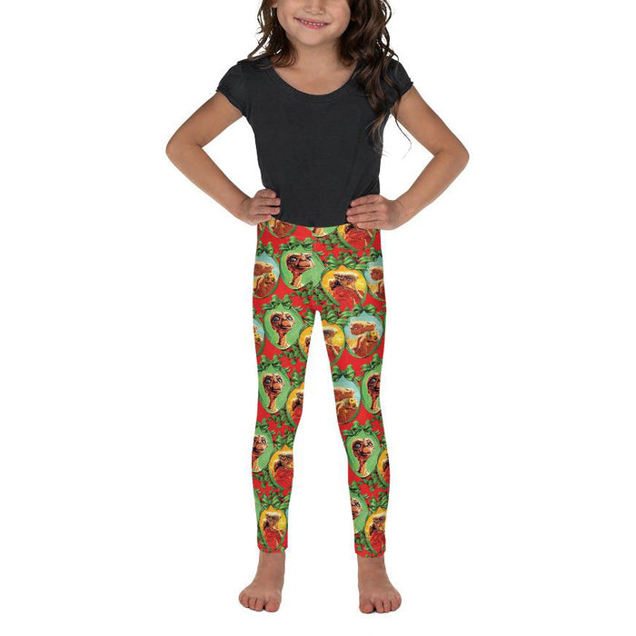 Graphic Leggings - Lil Kid - E.T. Xmas