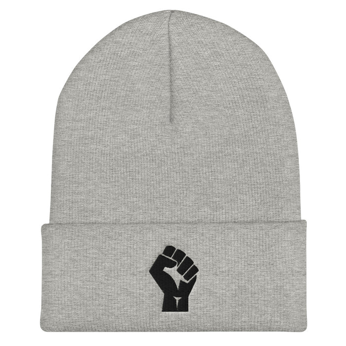 Cuffed Beanie - Solidarity Fist (more colours)