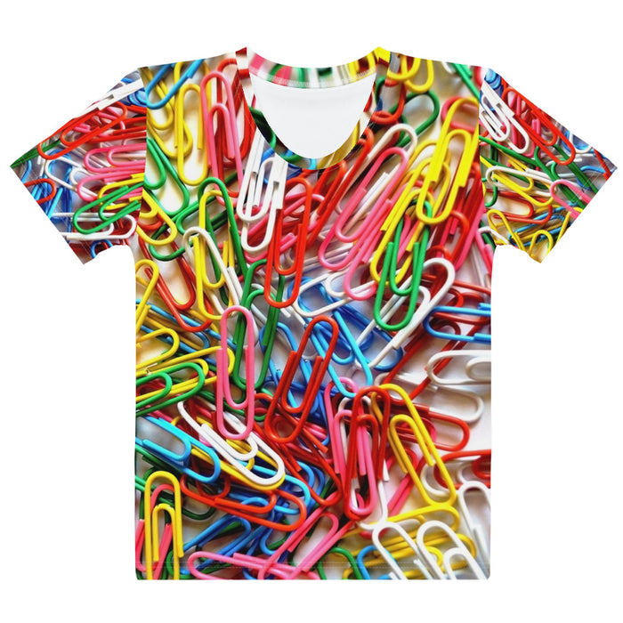 Adult Tee - Women's - Paperclips