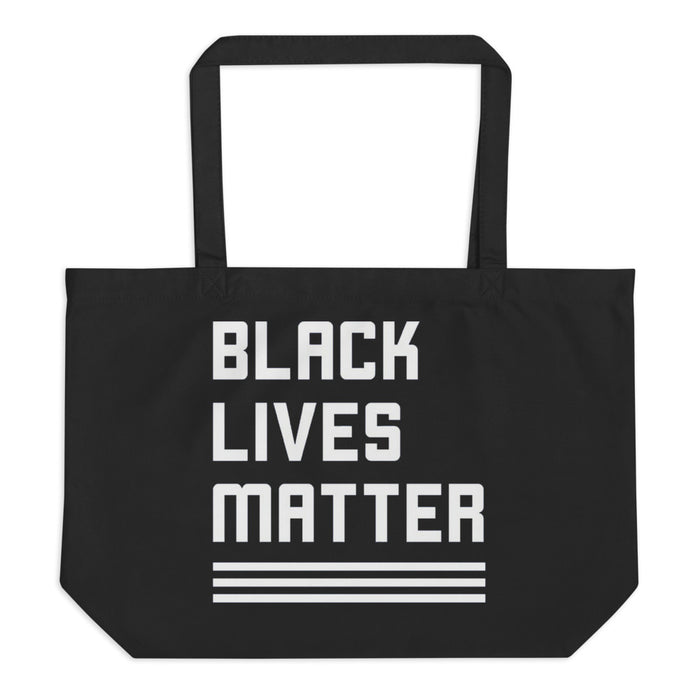 Large Eco Tote - Black Lives Matter (black)