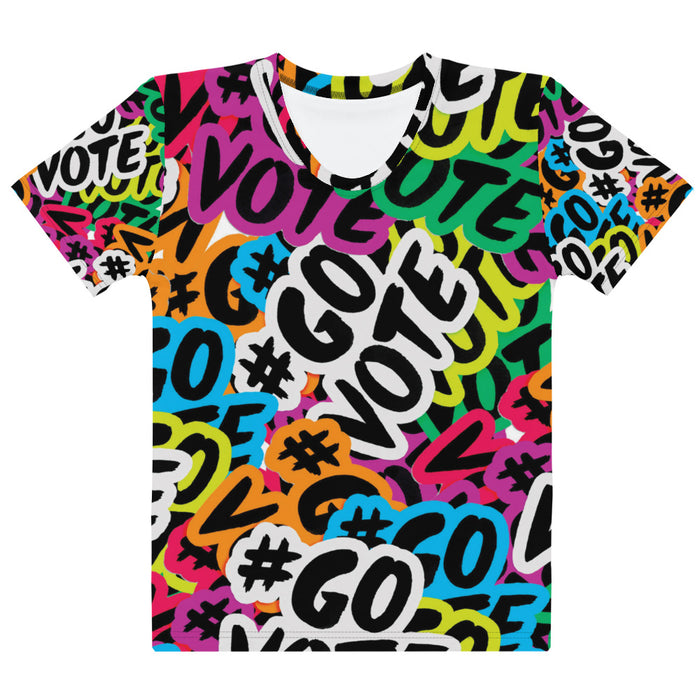 Adult Tee - Women's - #GOVOTE