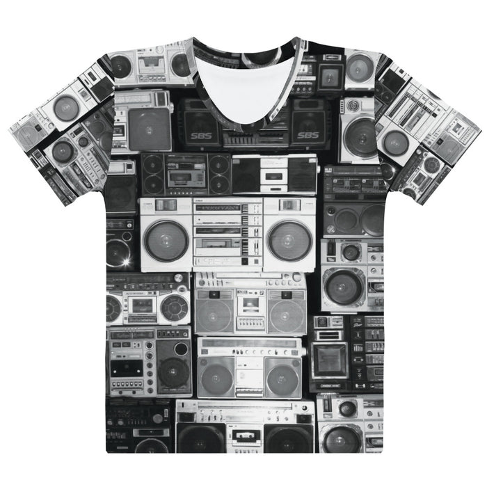 Adult Tee - Women's - Boom Boxes