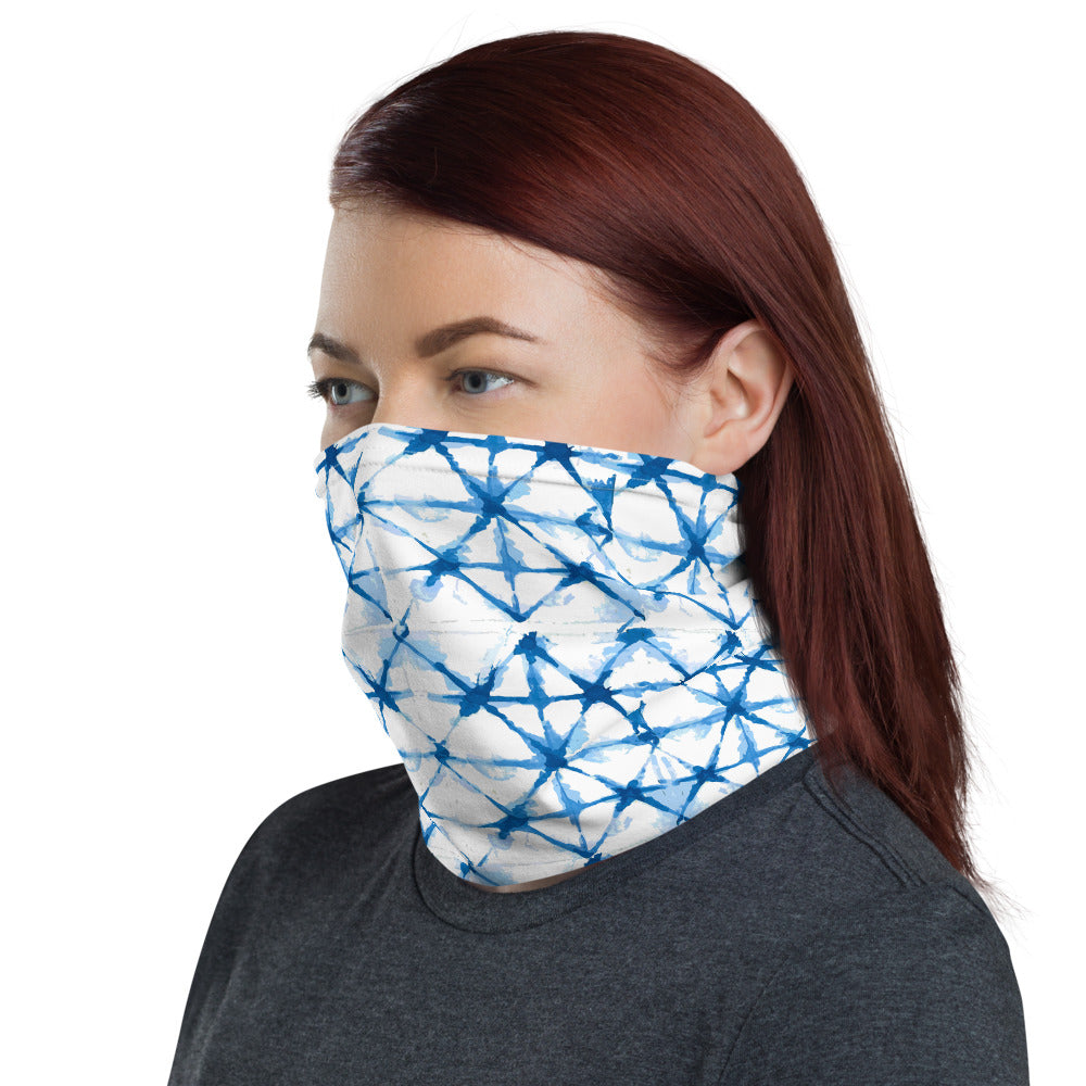 All-In-One Mask - Shibori Check