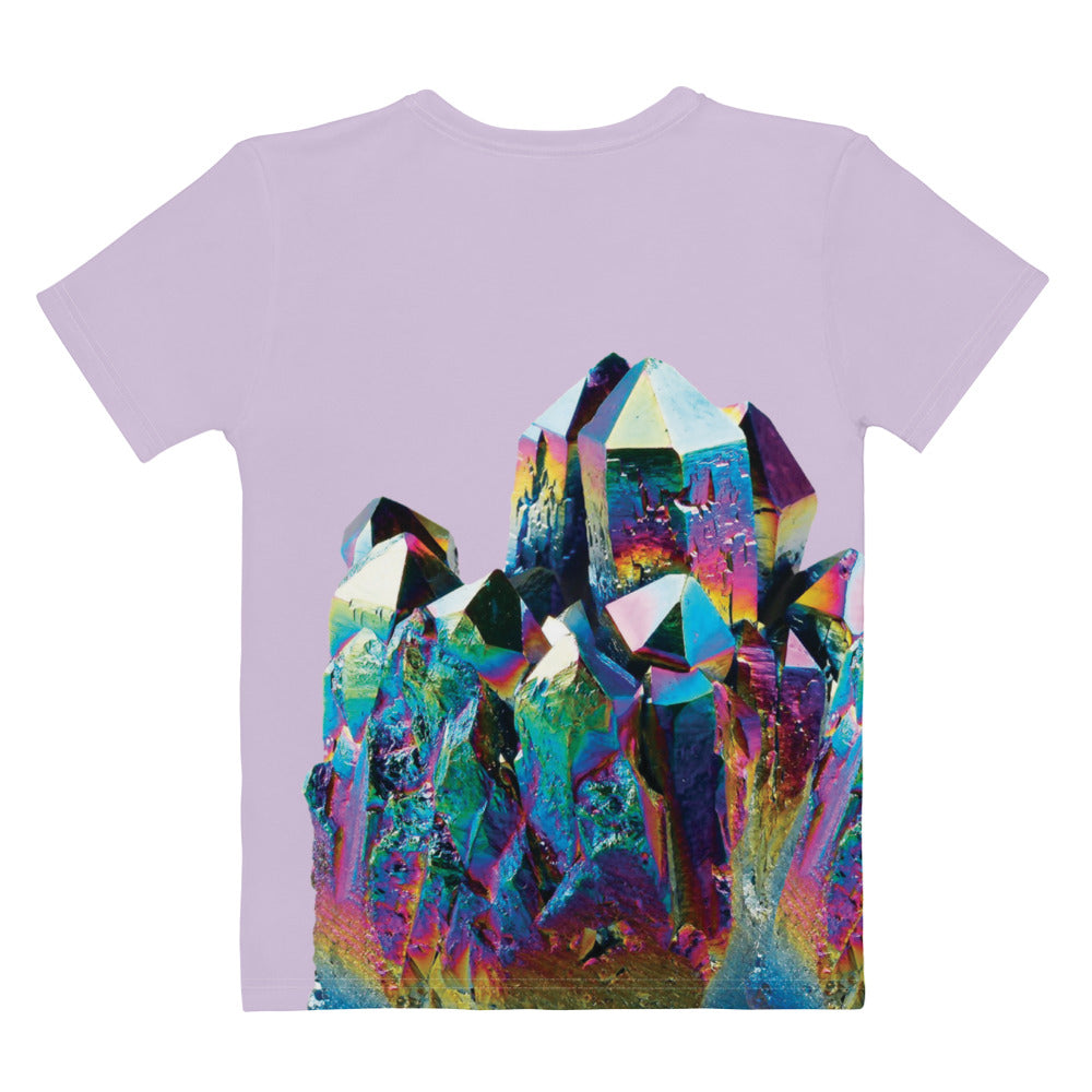Adult Tee - Women's - Titanium Quartz Crystal