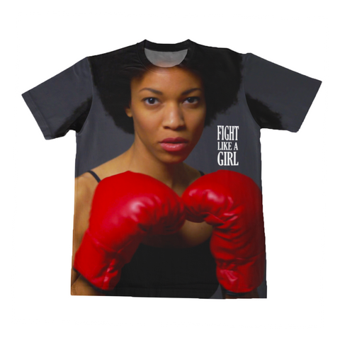 Graphic Tee - Lil Kid - Fight Like A Girl