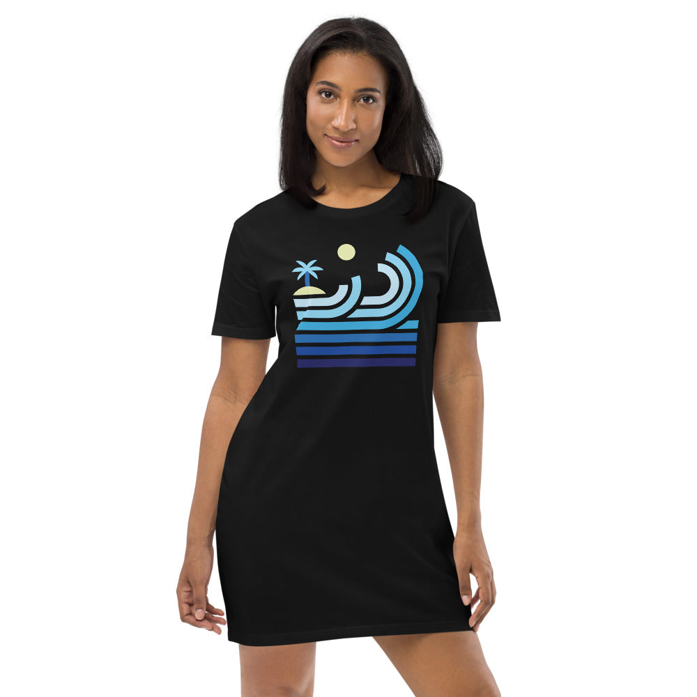 T-Shirt Dress - Women - The Surf (4 colours)