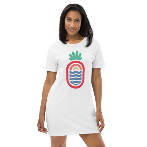 T-Shirt Dress - Pineapple Bay (4 colours)