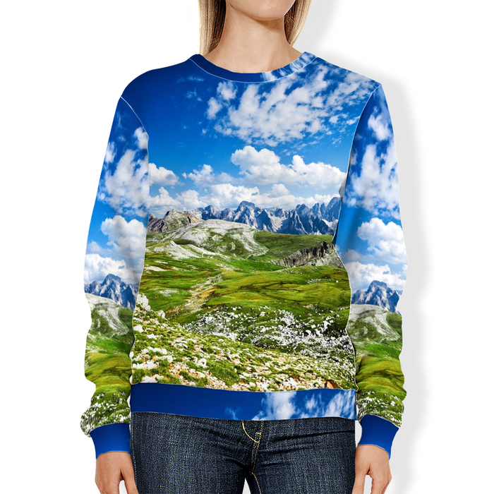 Adult Sweatshirt - Alpine Valley