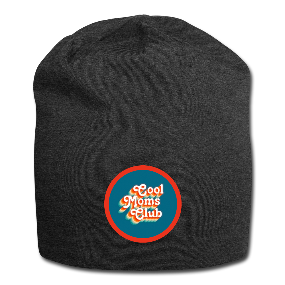 Jersey Beanie - Cool Moms Club - charcoal gray