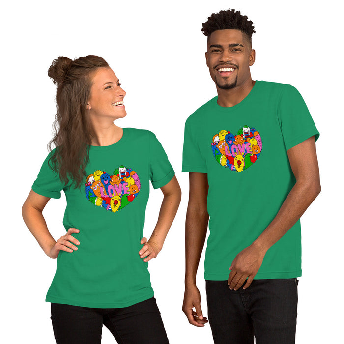 Adult Tee - Unisex - Love Critters (10+ colours)
