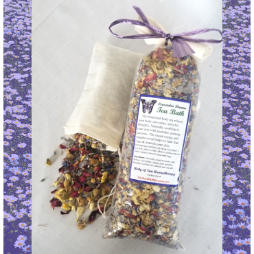 Lavender Dream Tea Bath