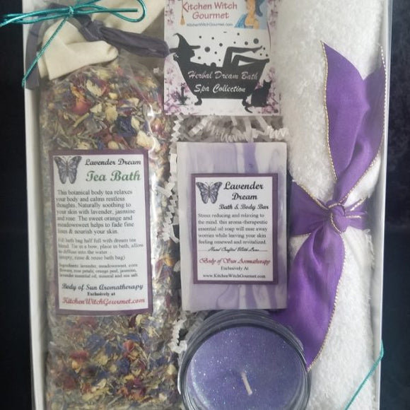 Lavender Dream Bath Gift Box