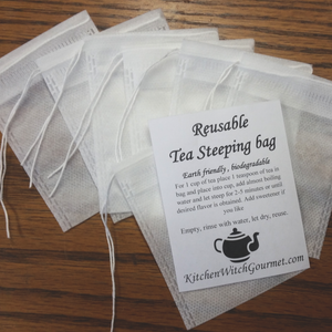 Reusable Steeping Bags