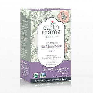 Earth Mama® Organic No More Milk Tea
