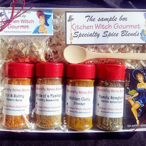 Specialty Spice Sample Box