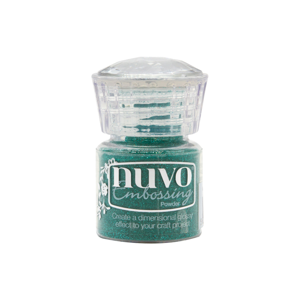 Nuvo - Glitter Embossing Powder - Glimmering Green - 593n