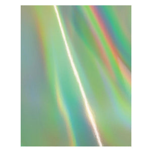 "Craft Perfect - Iridescent Mirror Card - Water Sprite - 8.5x11"" (5/PK) - 9791E"