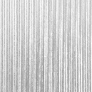 Craft Perfect - Speciality Card - Luxury Embossed A4 - Silver Pinstripe (5/PK) - 9848e